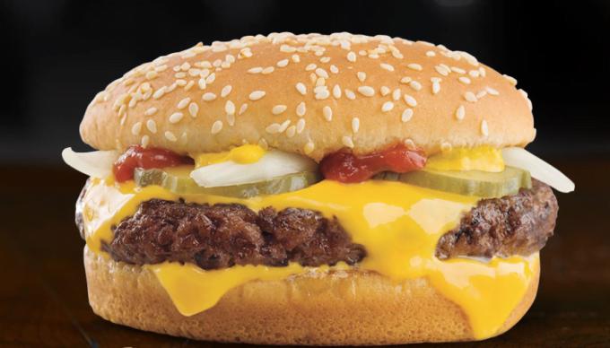 McDonald's - lança o revolucionário hambúrguer de carne fresca