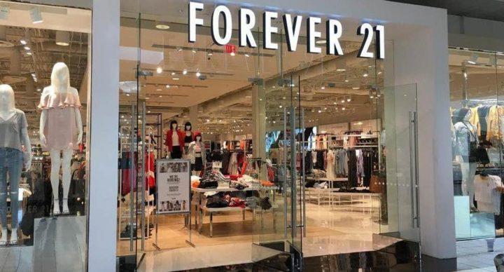 Forever 21 busca fugir da falência